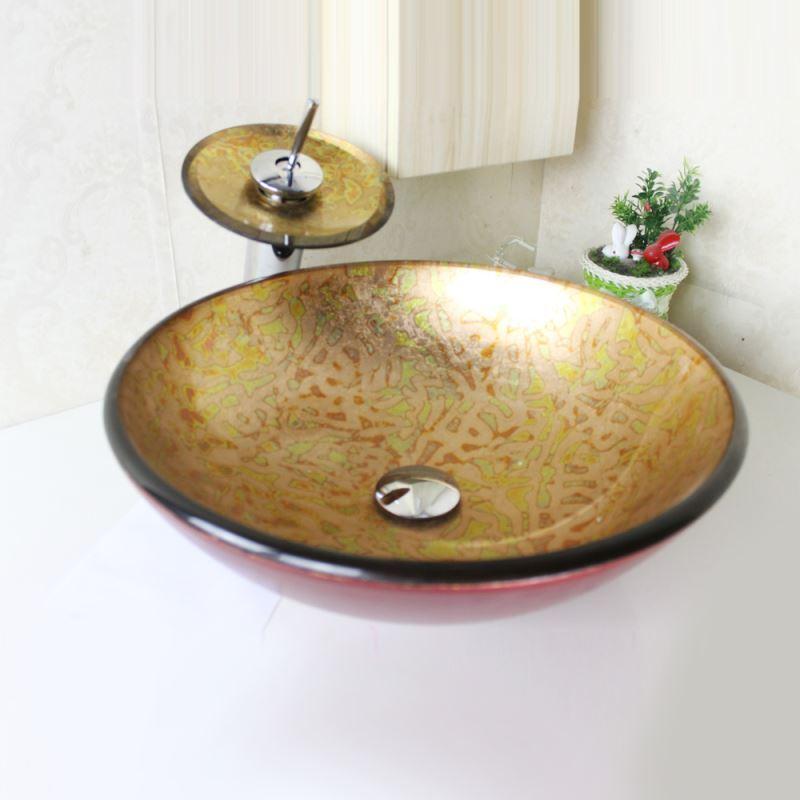 armaturen waschbecken armaturen sets eu lager modern waschbecken set glas rund mit. Black Bedroom Furniture Sets. Home Design Ideas