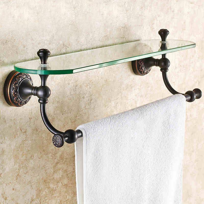 badzubeh r bad handtuchablage eu lager glasablage bad antik messing bad accessoires. Black Bedroom Furniture Sets. Home Design Ideas