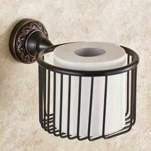 (EU Lager)WC Papierhalter Antik Messing Bad Accessoires