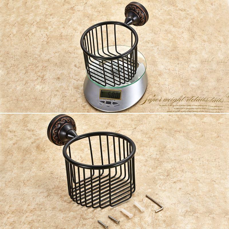 badzubeh r wc rollenhalter eu lager wc papierhalter antik messing bad accessoires. Black Bedroom Furniture Sets. Home Design Ideas