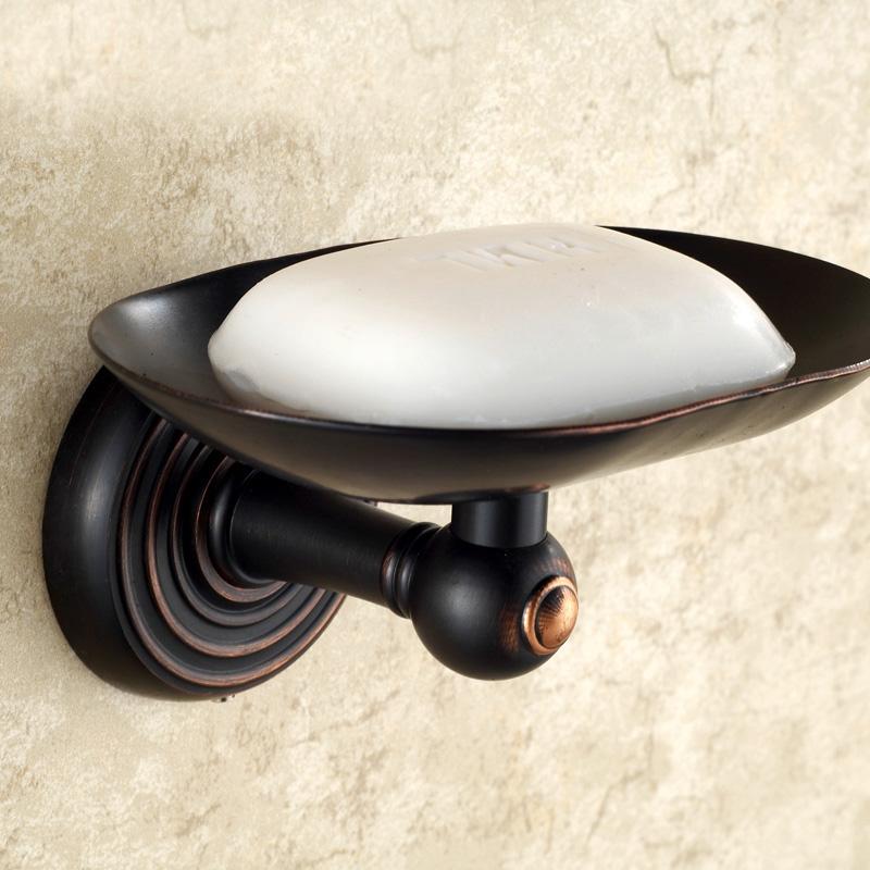 badzubeh r seifenhalter eu lager seifenschale wandmontage antik messing bad accessoires schwarz. Black Bedroom Furniture Sets. Home Design Ideas