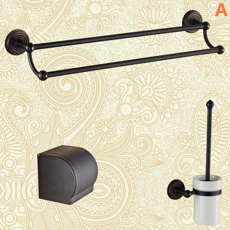 badzubeh r bad accessoires sets eu lager antik messing badzubeh r set schwarz. Black Bedroom Furniture Sets. Home Design Ideas