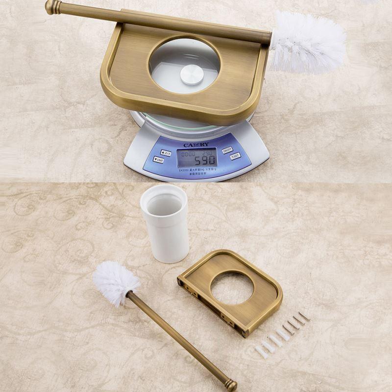 badzubeh r wc b rstenhalter eu lager wc b rstenhalter antik messing bad accessoires. Black Bedroom Furniture Sets. Home Design Ideas