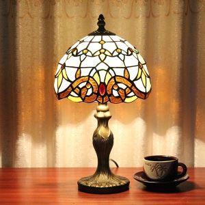 (EU Lager)60W Tiffany-Tischleuchte 1 flammig