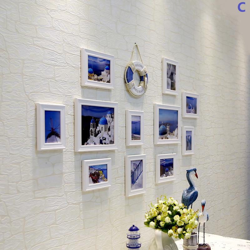 Ausverkauft - (EU Lager)Galerie Bilderrahmen Set Mediterraner Stil ...