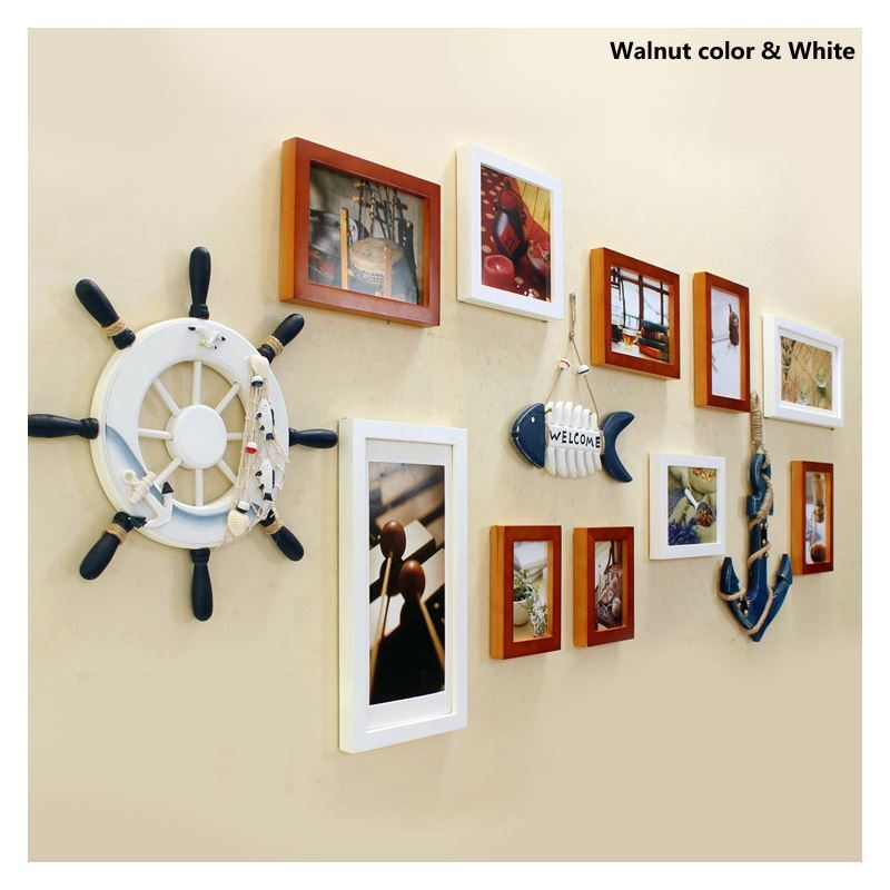 ausverkauft eu lager galerie bilderrahmen set europ ischer stil aus holz 10er set. Black Bedroom Furniture Sets. Home Design Ideas