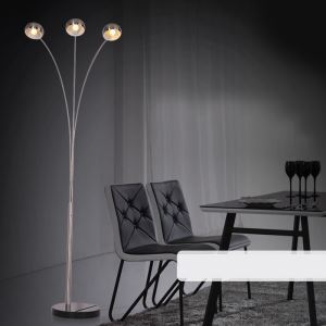 Stehlampe Modern Design 3-flammig