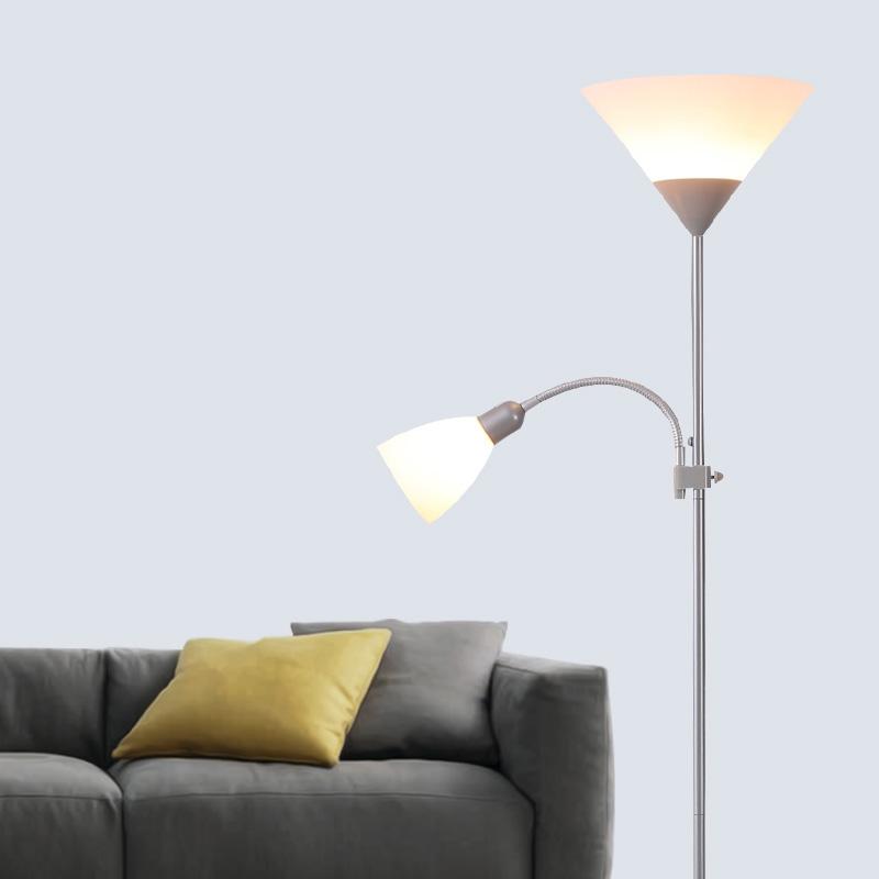 Ausverkauft - Stehleuchte Modern Design 2-flammig