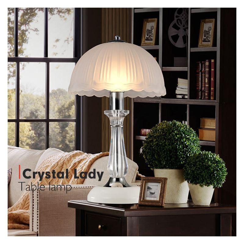 beleuchtung tischleuchten eu lager tischleuchte kristall modern design im wohnzimmer lesezimmer. Black Bedroom Furniture Sets. Home Design Ideas