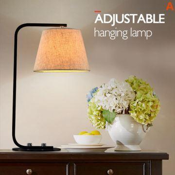 tischlampe modern im wohnzimmer lesezimmer. Black Bedroom Furniture Sets. Home Design Ideas