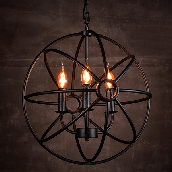 eu lager design kronleuchter im landhausstil retro 4 flammig. Black Bedroom Furniture Sets. Home Design Ideas