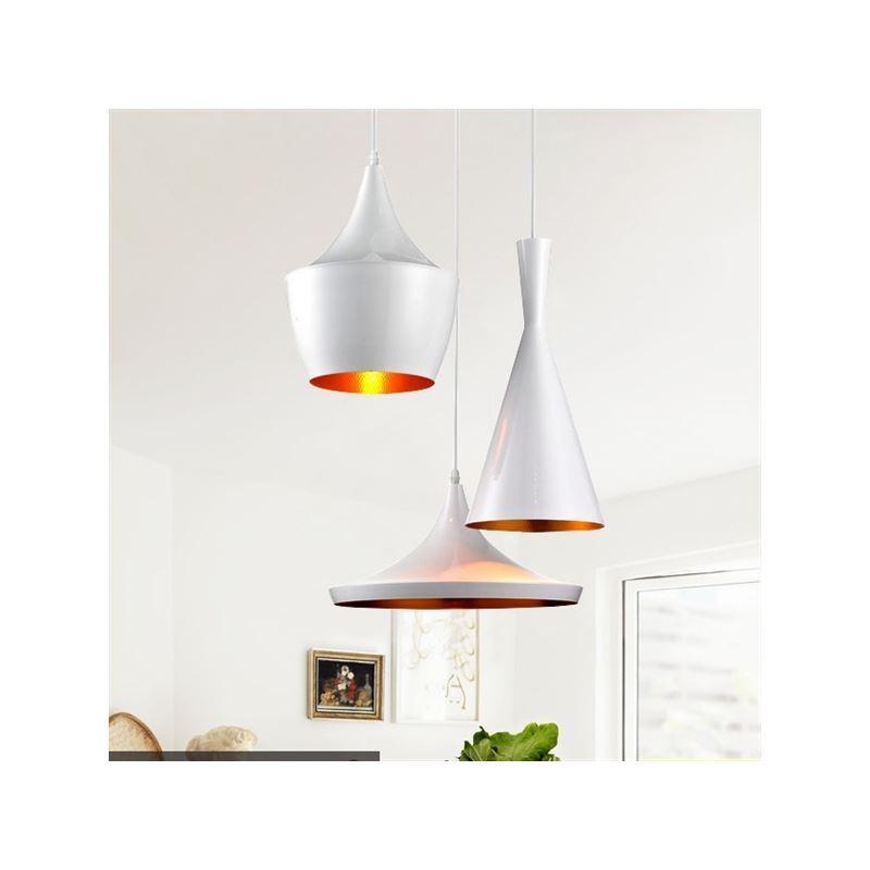 Eu lager pendelleuchte modern minimalistisch eisen aluminium wei 3 flammig - Esszimmerleuchten modern ...