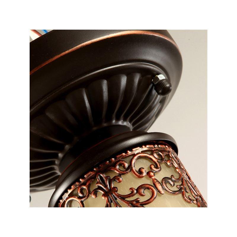 beleuchtung deckenleuchten eu lager retro deckenleuchte landhaus stil 1 flammig. Black Bedroom Furniture Sets. Home Design Ideas