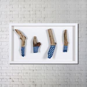 Leinwandbild Holz Fun Digitaldruck ohne Rahme-G