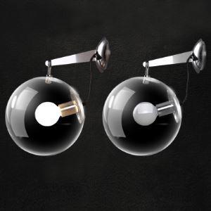 Glas Wandlampe Modern Kugel Design