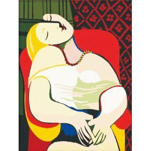 (EU Lager)Malen nach Zahlen Der Traum von Pablo Picasso DIY Handgemaltes Digital Ölgemälde 30*40 cm