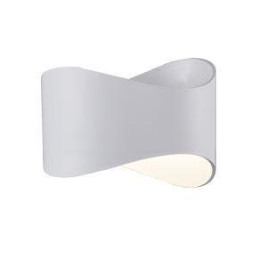 Led Wandleuchte Modern aus Acryl Weiß
