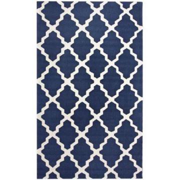Teppich Modern Geometrisch Design aus Polypropylen im Wohnzimmer-A