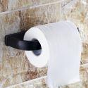 WC Rollenhalter Messing Schwarz