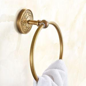 (EU Lager)Antik Messing Handtuchring Badezimmer