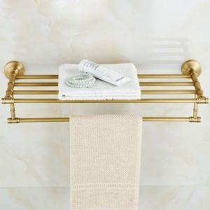 (EU Lager)Antik Messing Handtuchhalter Handtuchablage Badzubehör
