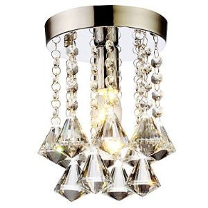 (EU Lager)Versandkostenfrei Mini Deckenleuchte Modern Kristall Diamant Design Kristall Schlafzimmer