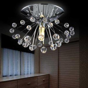 (EU Lager)Versandkostenfrei Mini Moderne Deckenleuchte Kristall Modern Löwenzahn Design Schlafzimmer