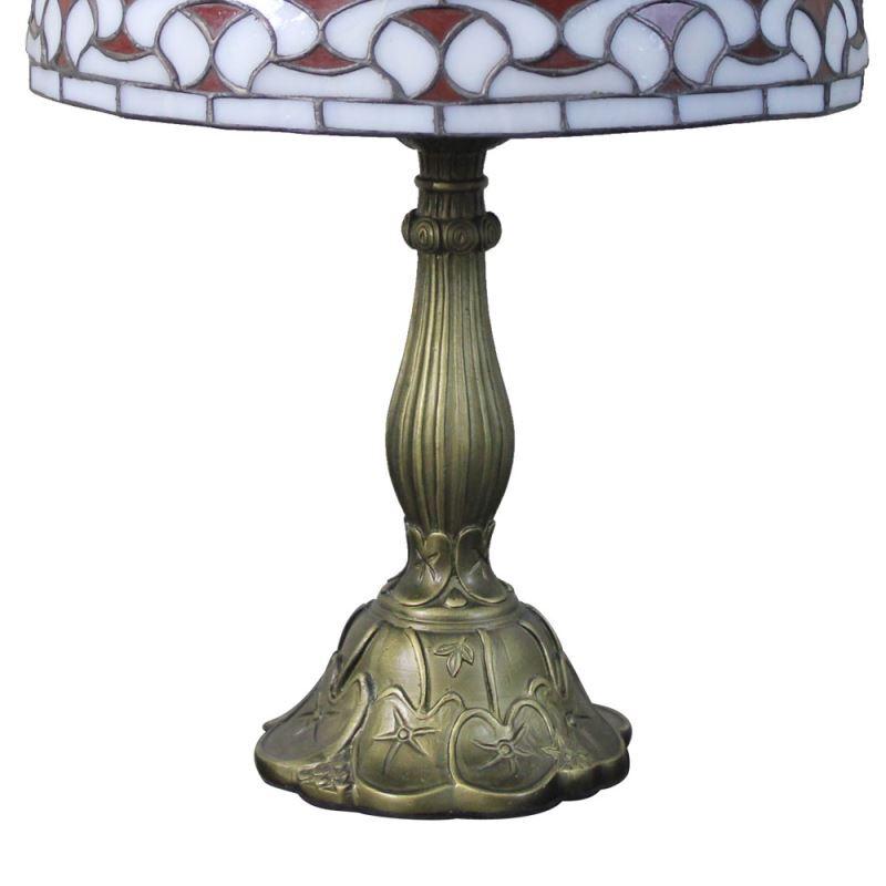 Meisterhafte Tischleuchte Tiffany Stil D30cm 1-flammig Im