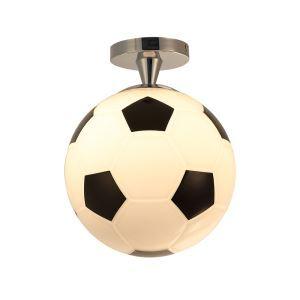 Moderne Deckenleuchte Fußball Design 1-flammig