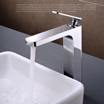 Waschbecken Armatur Badezimmer.Elegante Waschbeckenarmatur Modern Chrom Einhand Im Badezimmer
