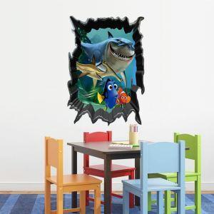 3D Wandtattoo Findet Nemo