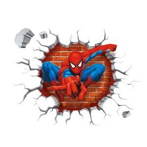 3D Wandtattoo Spider-Man PVC Fototapete
