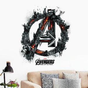 3D Wandtattoo Marvel's The Avengers PVC Fototapete