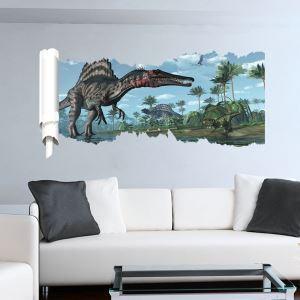 3D Wandtattoo Jurassic Park Dinosaurier