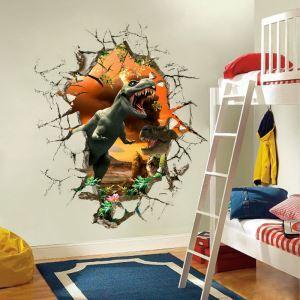 3D Wandtattoo Jurassic Park Tyrannosaurus PVC Fototapete