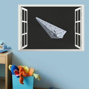 3D Wandtattoo Star Wars Raumschiff PVC Fototapete