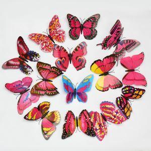 3D Wandtattoo Schmetterlinge 12er-Pack