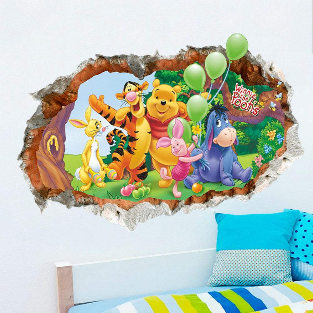 3D Wandtattoo Winnie The Pooh PVC Fototapete