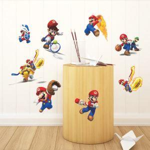 3D Wandtattoo Super Mario PVC Fototapete