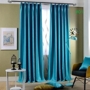 Vorhang Modern aus Samt Unifarbe