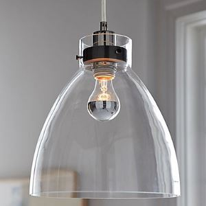 (EU Lager)60W E27 minimalistischen Glas Pendelleuchte