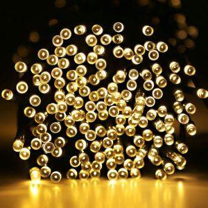 Solar Led Lichterkette für Außen Wasserdicht 100 flammig