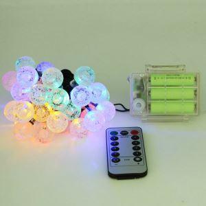 Led Lichterkette Bunt Kugel Design mit Fernbedienung