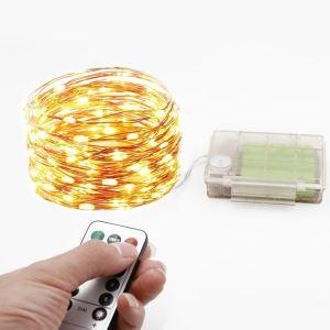 Led Lichterkette Bunt mit Fernbedienung