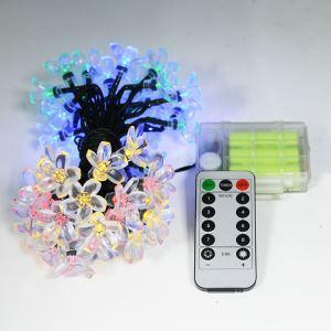 Led Lichterkette Blumen Design mit Fernbedienung
