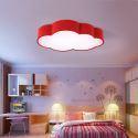 Moderne Deckenleuchte Led Wolke Design im Kinderzimmer