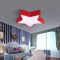 Led Deckenleuchte Modern Stern Design im Kinderzimmer