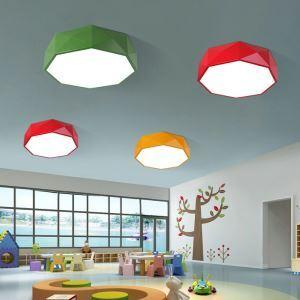 Stilvolle Deckenleuchte Led Modern Geometrisch Design im Kinderzimmer