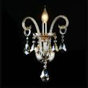Kristall Kerzen Wandleuchte Elegant im Schlafzimmer Flurgang Einflammig