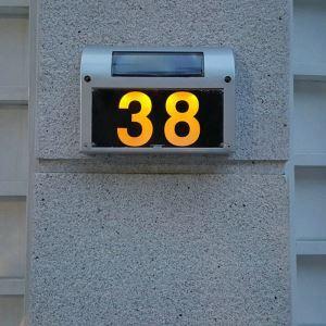Solar Türschilder Led Hausnummerleuchte